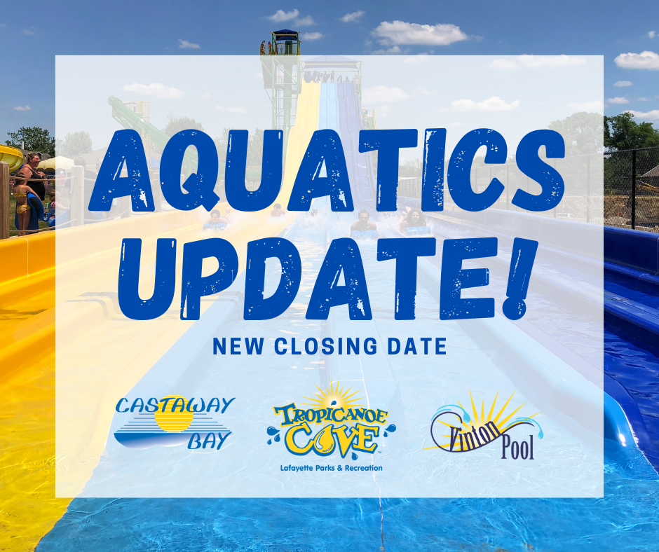 Aquatics Update CLOSING