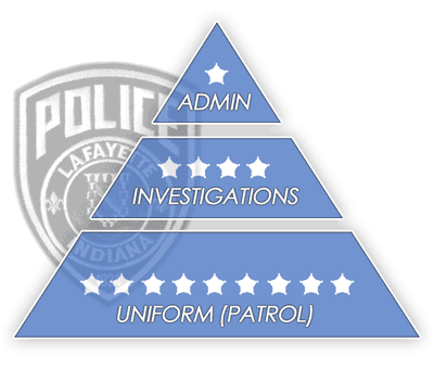 Police Department Organizational Hierarchy
