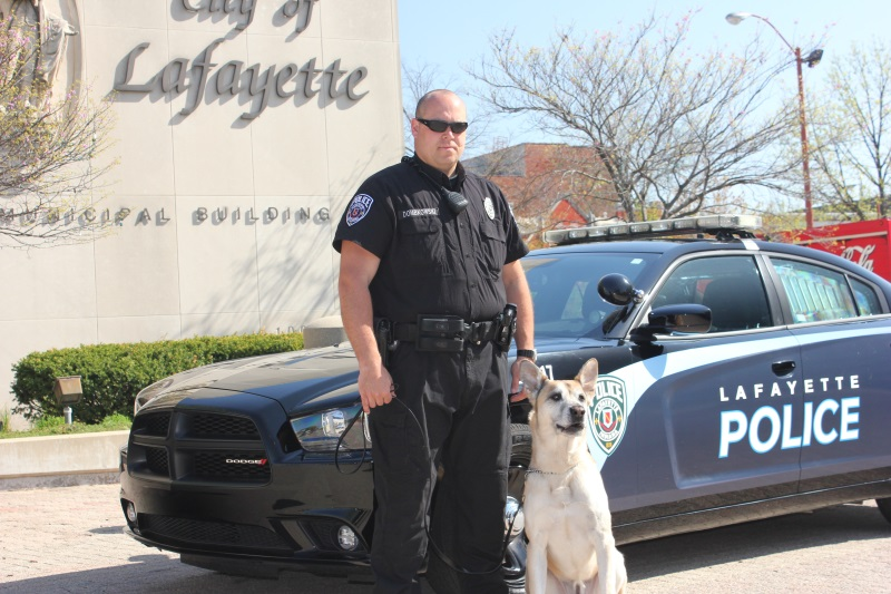 Officer Ron Dombkowski and K9 Tommy