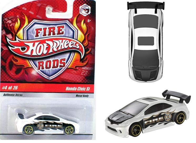 Hot Wheels 2009 Fire Rods Collectible Collage